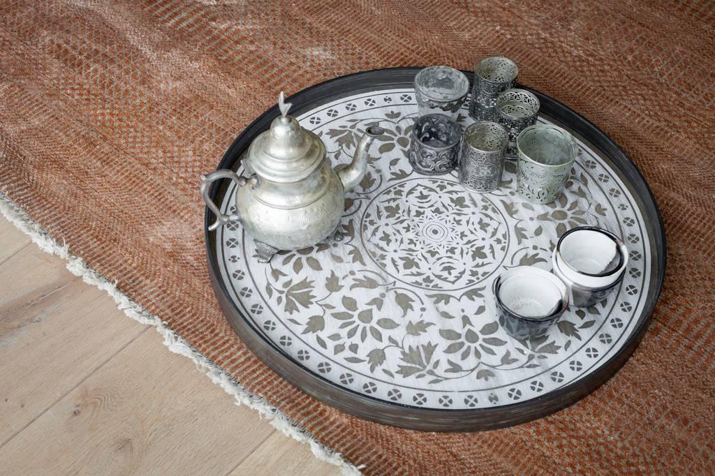 Notre monde Dienblad White Marrakesh driftwood