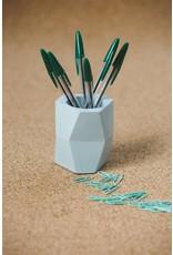 Atelier Pierre Facet Flower pot eucalyptus