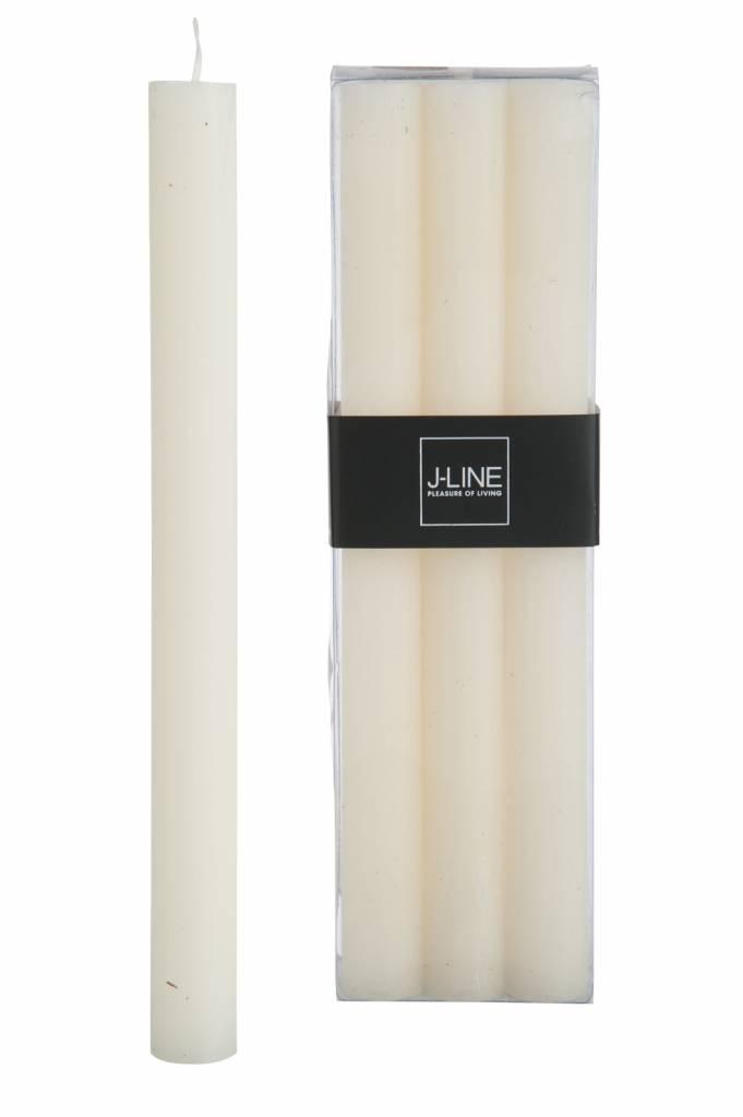 J-Line Tafelkaars vanille 6st