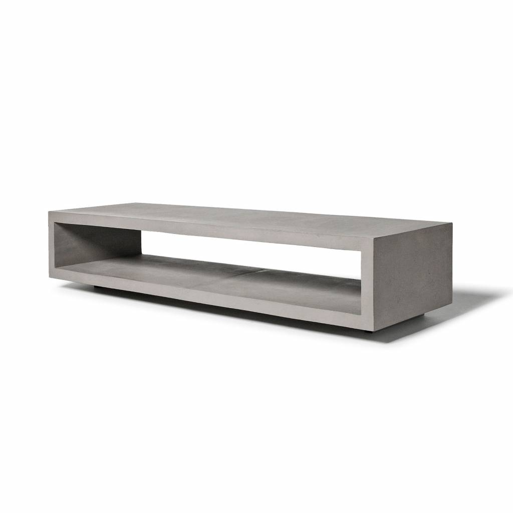 Lyon Béton Monobloc TV bench