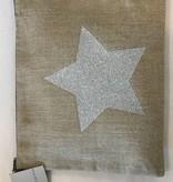 Un Esprit en Plus Linnen tas met zilveren ster