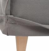 J-Line Bank Alex linnen grijs