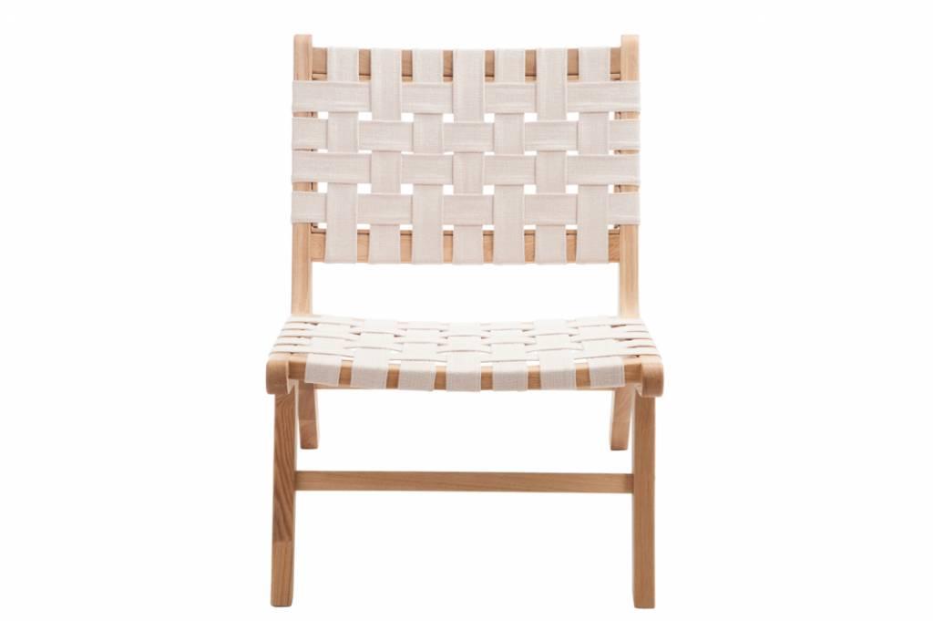 Lounge Stoel Wit.Stoel Etnisch Wit