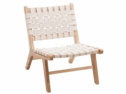 J-Line Chair Ethnic white s/2