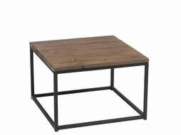J-Line Side table Black & brown