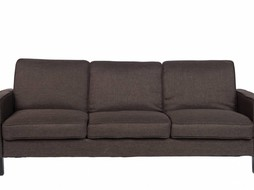 J-Line Couch 3 seat Dark Brown