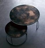 Notre monde Notre Monde Coffee table set round XL Bronze