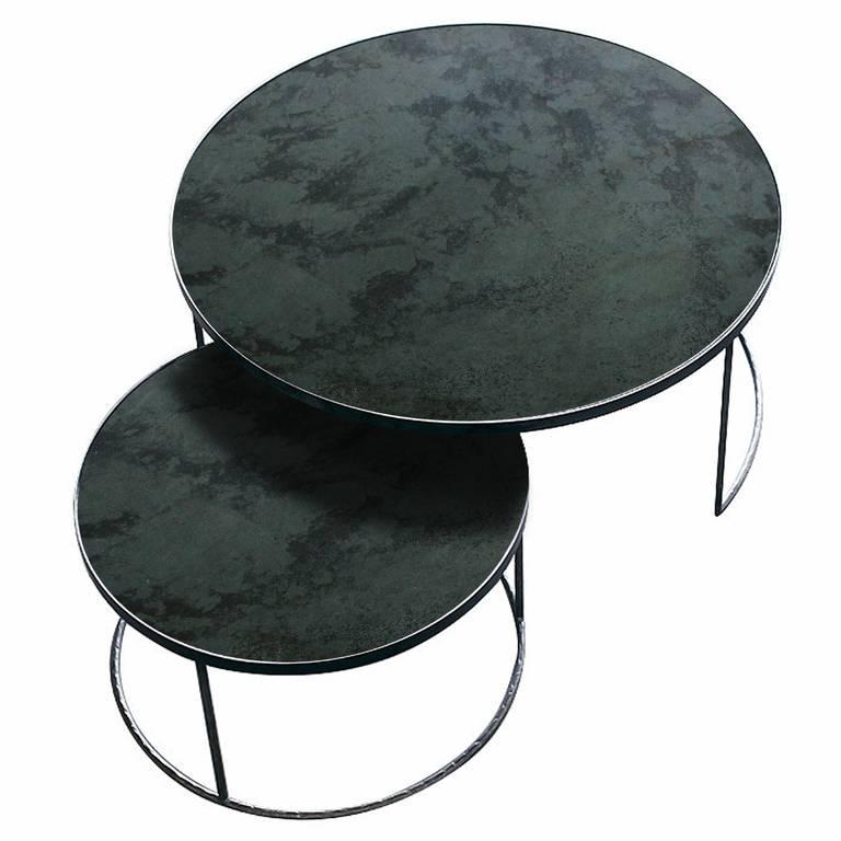 Notre monde Notre Monde Coffee table set round XL Charcoal