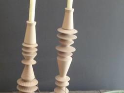 Un Esprit en Plus Candlestick natural L