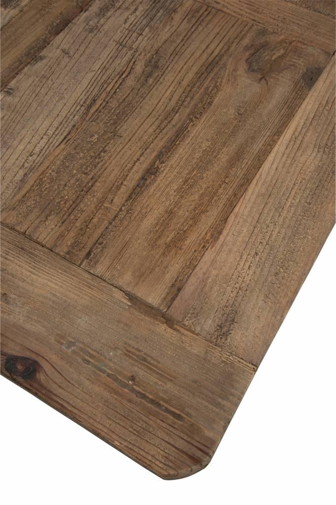 J-Line Dining table metal & wood Julius