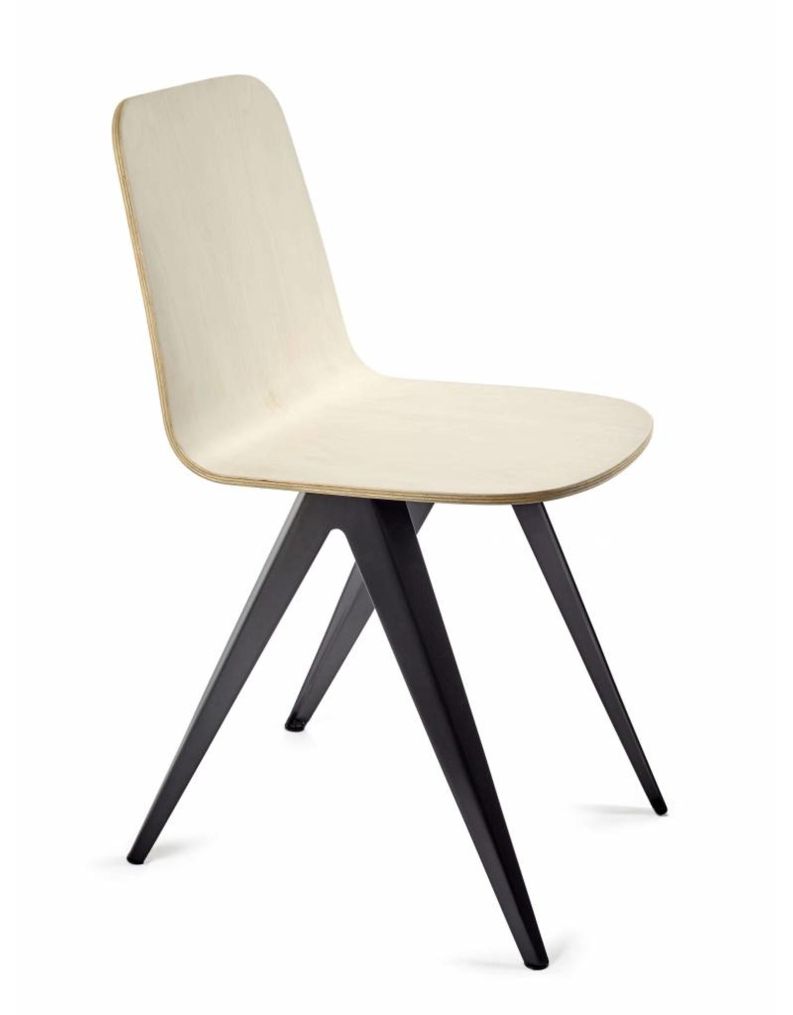 Serax Sanba stoel zwart/creme