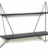 Serax Butterfly shelf black