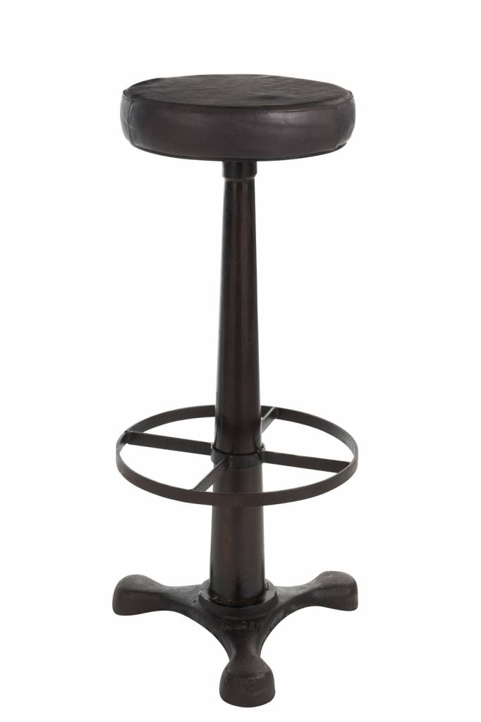 J-Line Barstool with leather seating