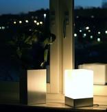 Epos of Sweden Kubb tafel lamp zilver