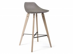 Lyon Béton Hauteville Plywood Counter Chair