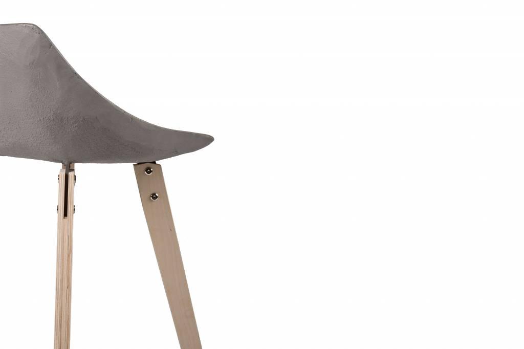 Lyon Béton Hauteville Plywood Counter Chair