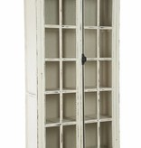 J-Line Display cabinet vintage white