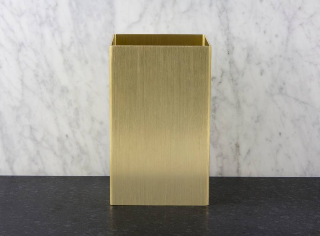 Epos of Sweden Kubb vase brass