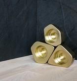 Epos of Sweden Voronoi kandelaars goud