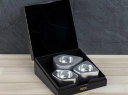 Epos of Sweden Voronoi kandelaars zilver