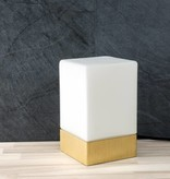 Epos of Sweden Kubb table lamp brass