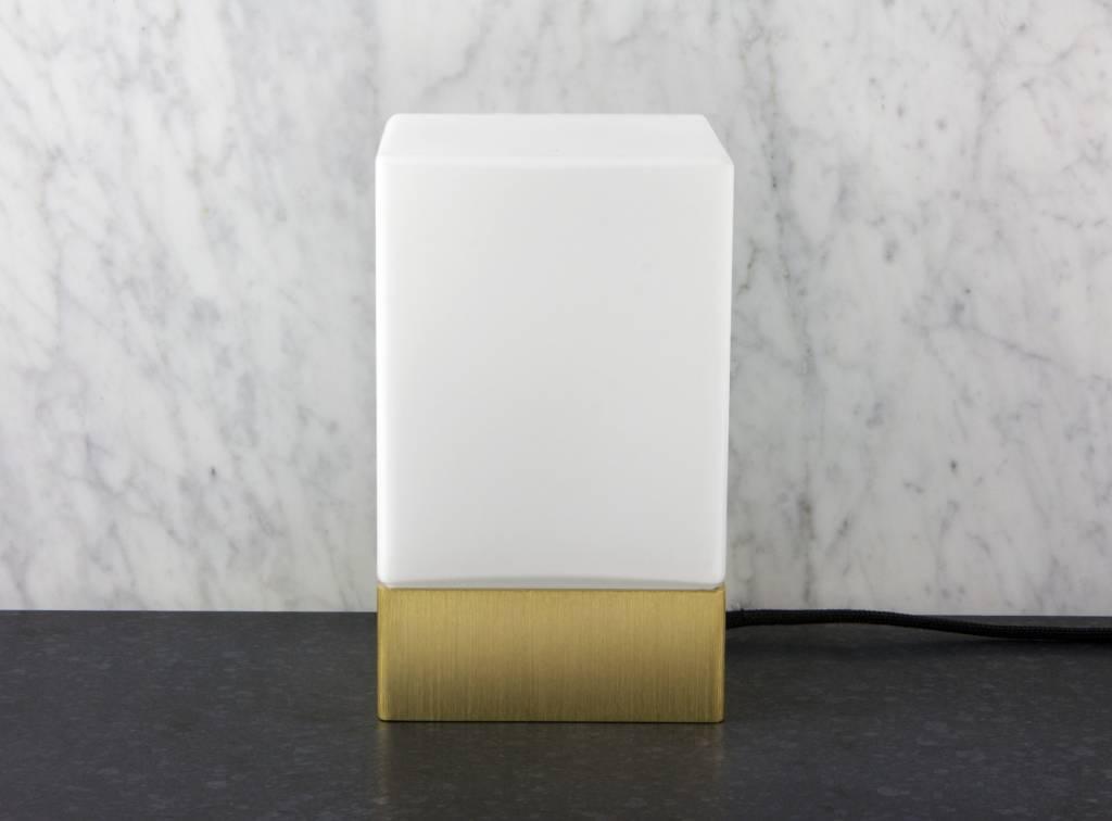 Epos of Sweden Kubb table lamp brass