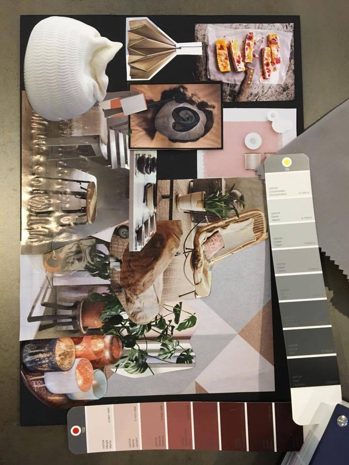 La Boutique Blanche Workshop Moodboard inspiration groupsession