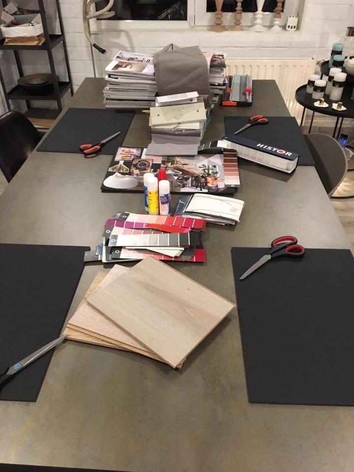 La Boutique Blanche Workshop Moodboard inspiration groupsession