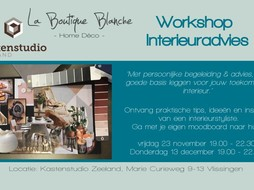 La Boutique Blanche Workshop moodboard Zeeland