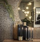 Dome Deco Hanglamp Zwart en goud