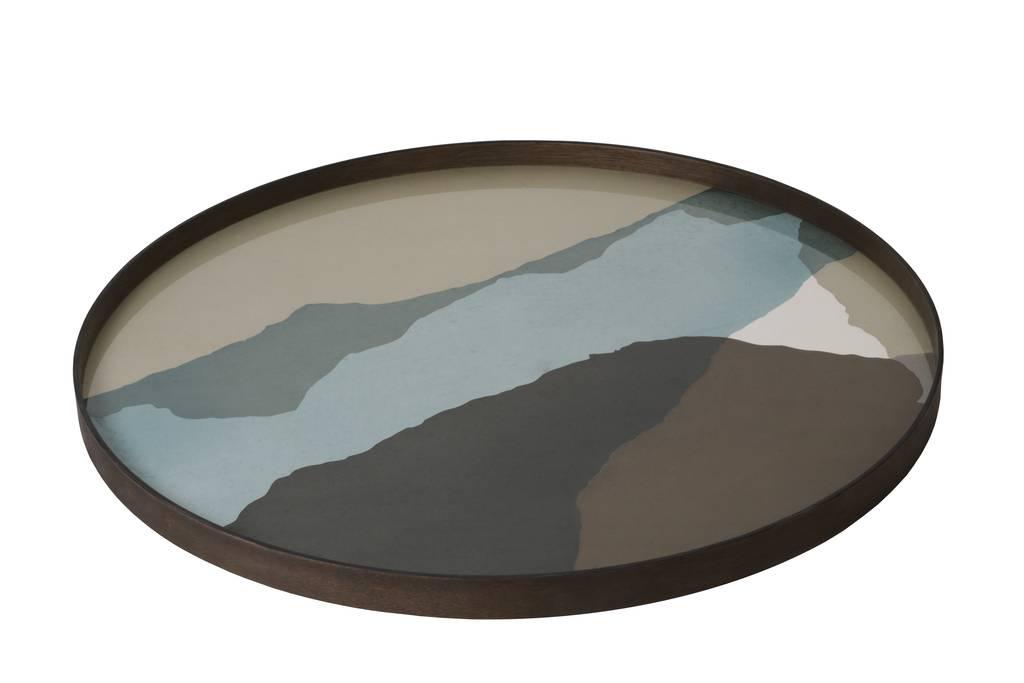 Notre monde Graphite Wabi Sabi tray XL