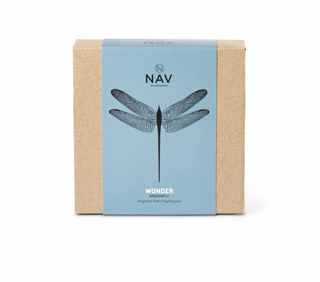 NAV Scandinavia WONDER Dragonfly silver