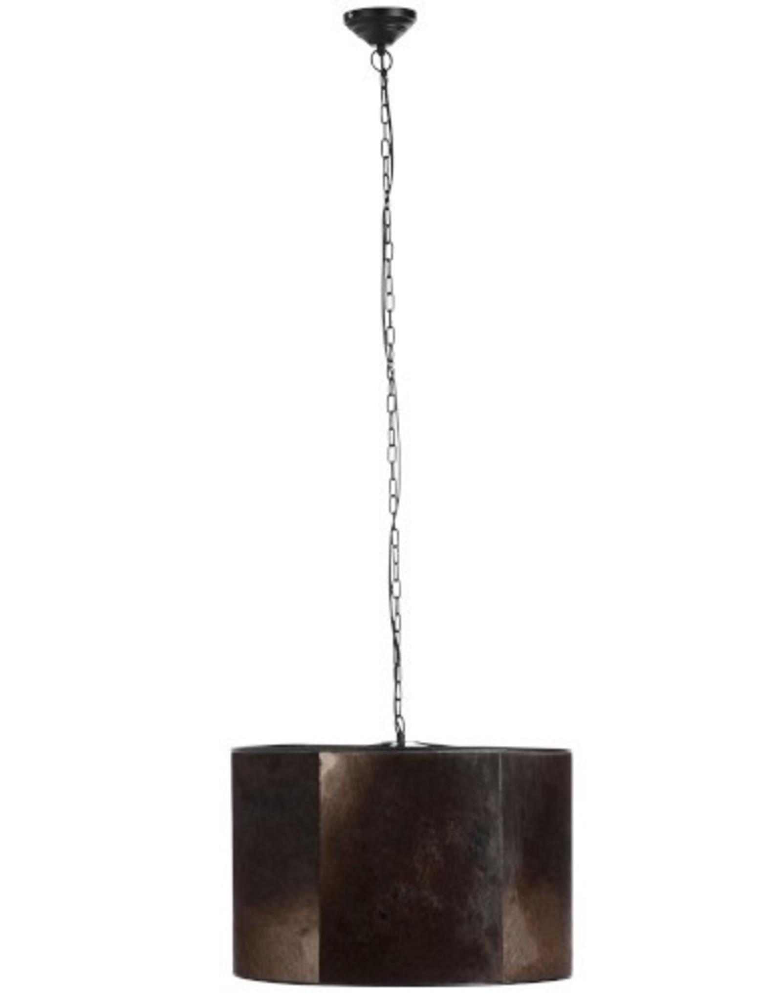 J-Line Hanglamp vel bruin