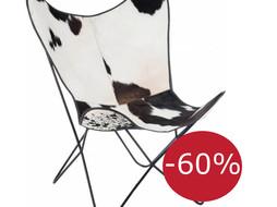 J-Line Lounge chair Cow
