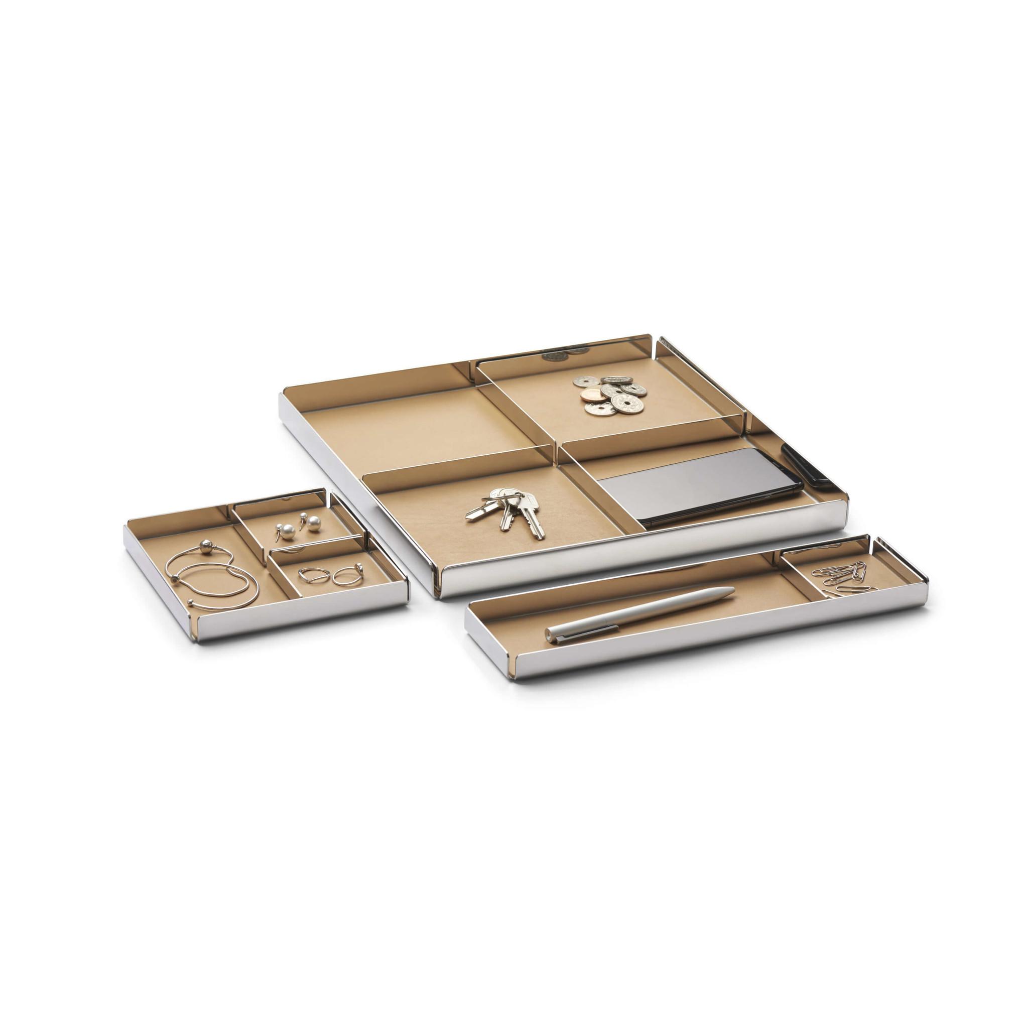 NAV Scandinavia Bureau organizer REST zilver - Design pennenbak