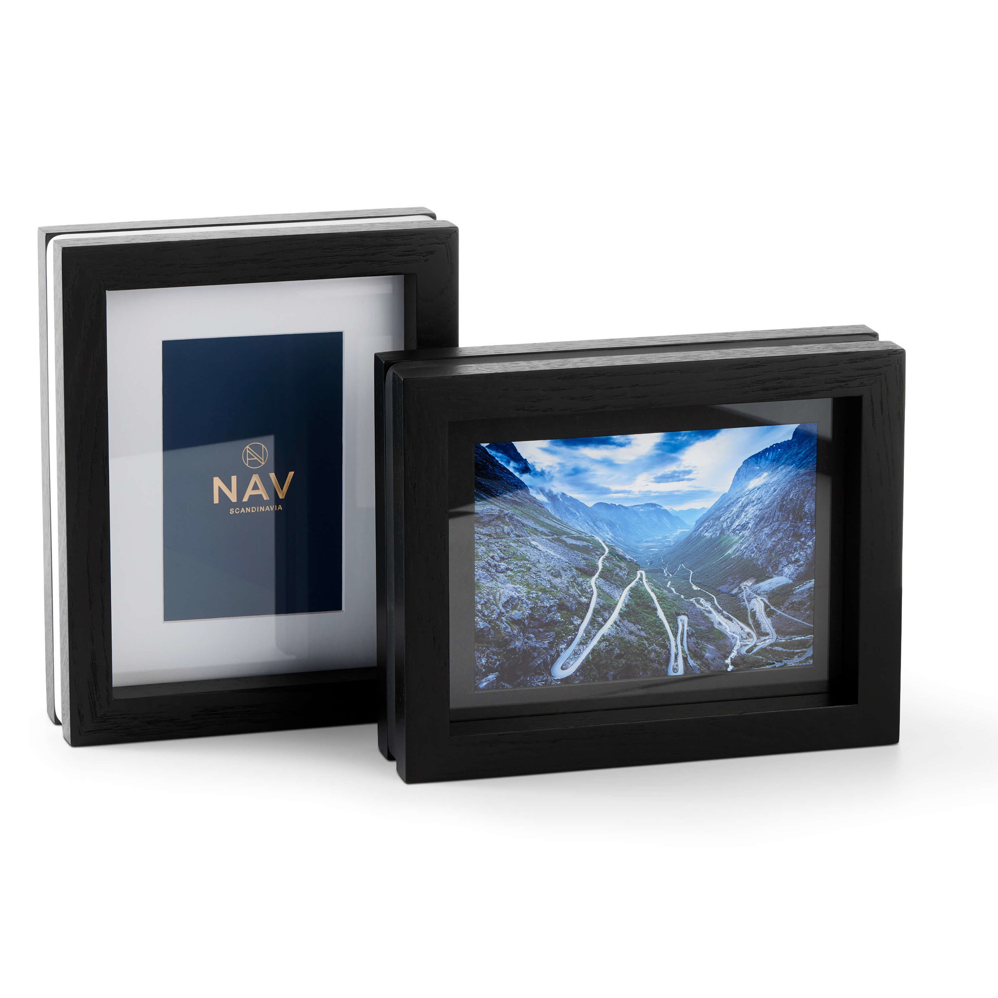 NAV Scandinavia CHANGE multi frame black wood