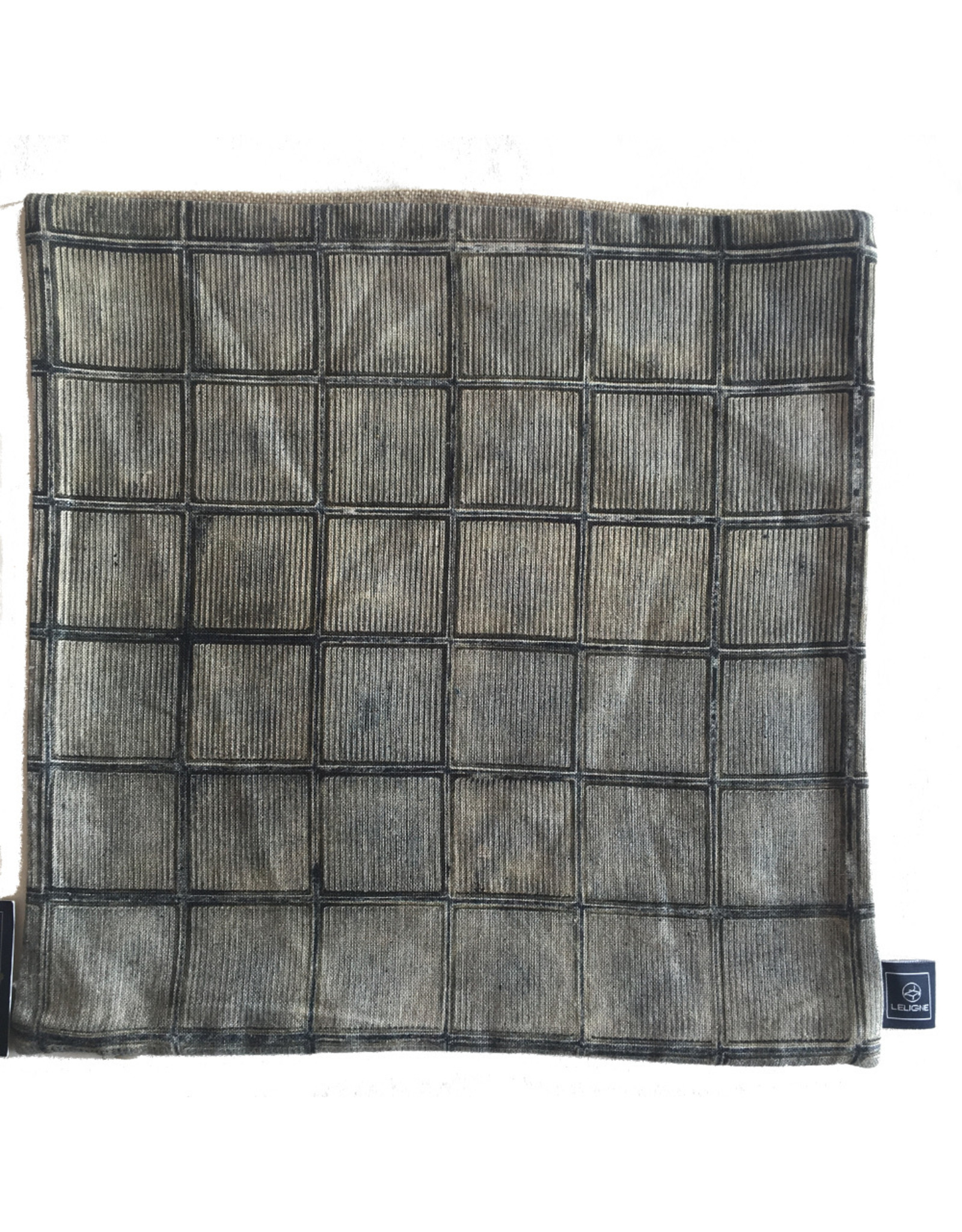 Leligne Lomme light cushion cover linen 40x40cm