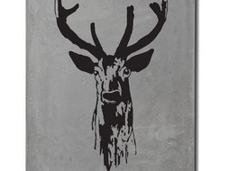 Lyon Béton Print on concrete Deer