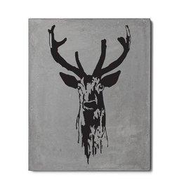 Lyon Béton Print on concrete Deer