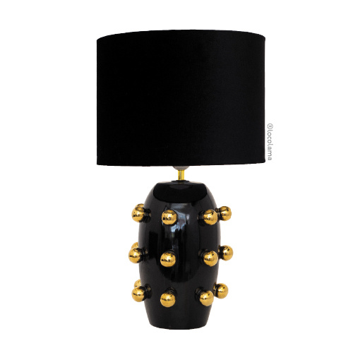 Loco Lama Ceramic Lamp Big Dots
