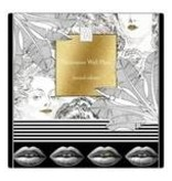 Loco Lama Decorative Wall Plate Golden Lips