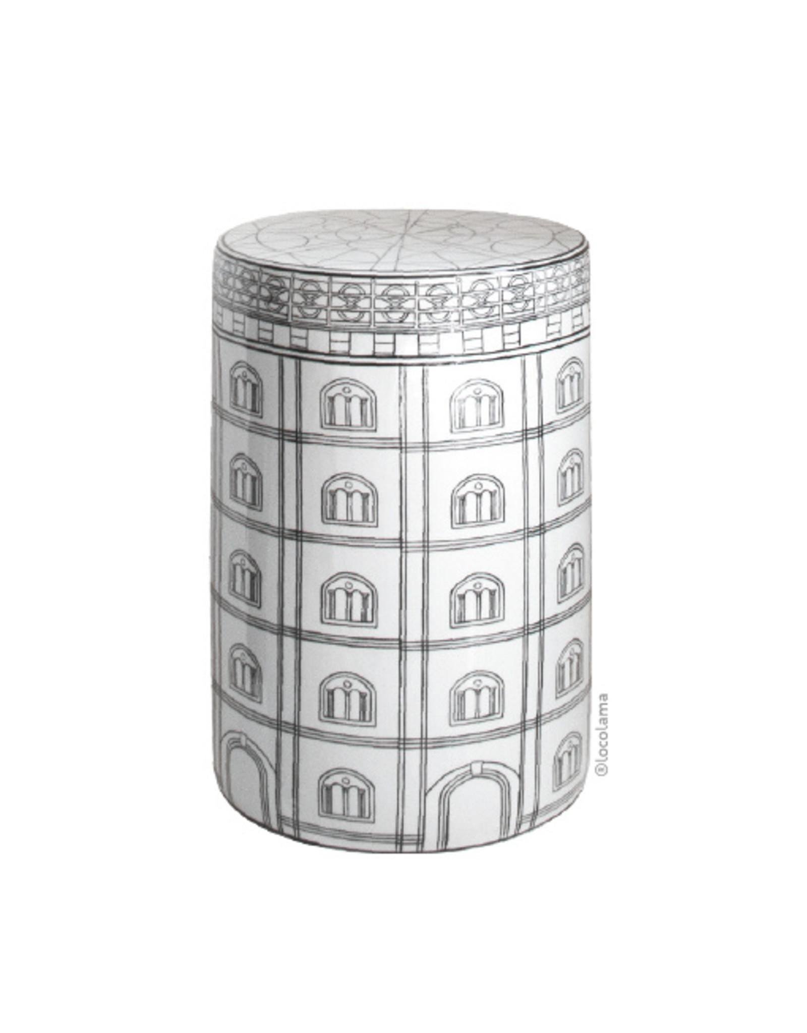 Loco Lama Ceramic Table/Stool Canalhouse
