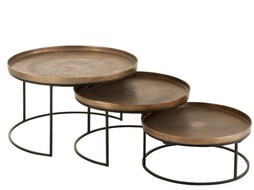 J-Line Set sidetables