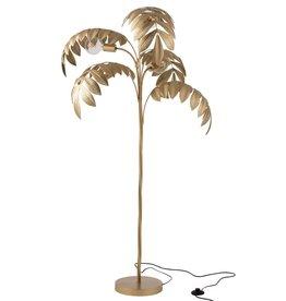 J-Line Staande lamp palmboom