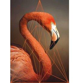 Lé Papiers de Ninon Poster Flamingo