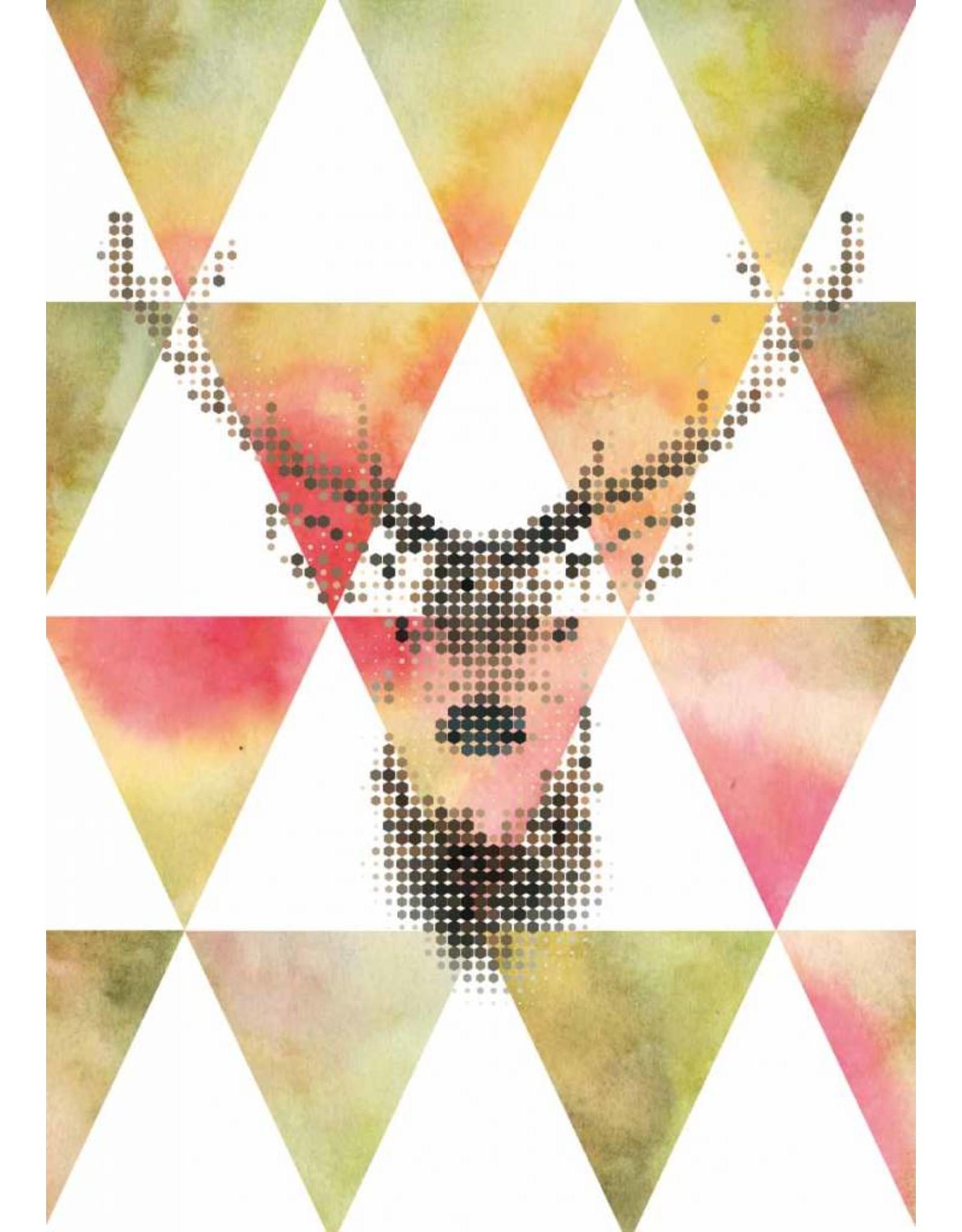 Lé Papiers de Ninon Poster A3 Hert grafisch