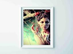 Lé Papiers de Ninon Poster Wax Doll