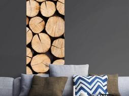 Lé Papiers de Ninon Behang houtblokken Armelle