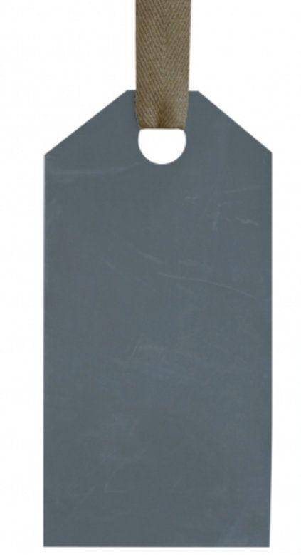 Un Esprit en Plus Schrijfbord Amerikaans etiket Zink 35*70cm