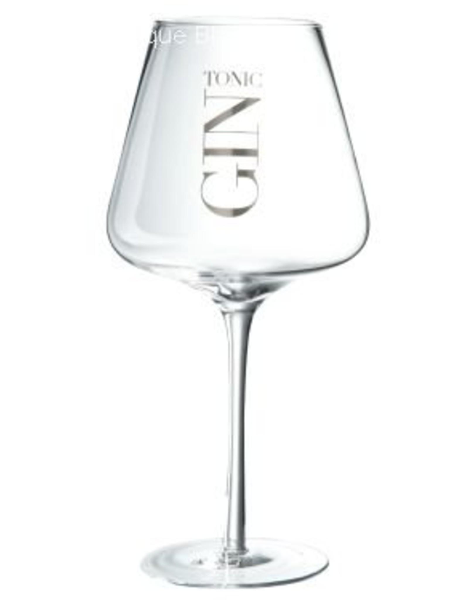 J-Line Drinkglas Gin hoekig hoog